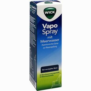 Abbildung von Wick Vapospray zur Nasenspülung Hypertonic  100 ml