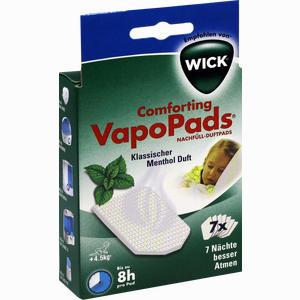 Abbildung von Wick Wh7 Vapopads 7 Menthol Pads 1 Packung