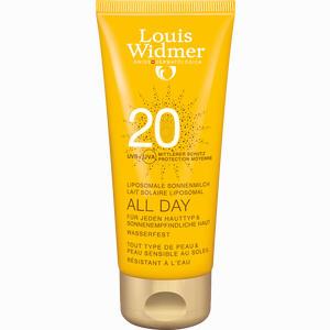 Abbildung von Widmer All Day 20 Nicht parfümiert Milch 100 ml