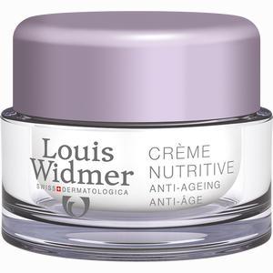 Abbildung von Widmer Creme Nutritive Unparfümiert 50 ml