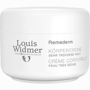 Abbildung von Widmer Remederm Körpercreme Leicht parfümiert  250 ml