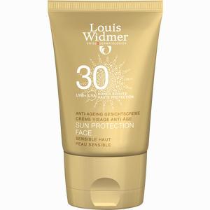 Abbildung von Widmer Sun Protection Face 30 unparfümiert Creme 50 ml