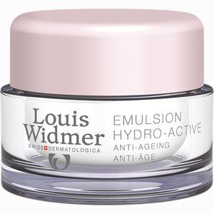 Abbildung von Widmer Tagesemulsion Hydro Active Leicht Parfümiert 50 ml
