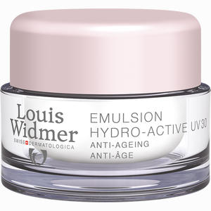 Abbildung von Widmer Tagesemulsion Hydro- Active Uv30 Leicht parfümiert  50 ml