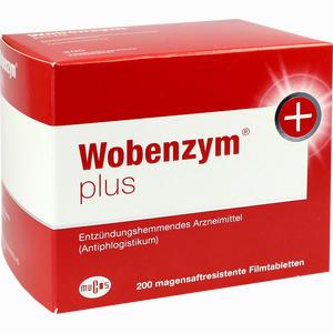 Abbildung von Wobenzym Plus Tabletten 200 Stück