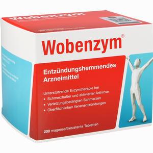 Abbildung von Wobenzym Tabletten  200 Stück