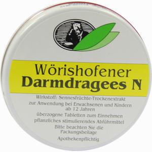 Abbildung von Wörishofener Darmdragees N Tabletten 30 Stück