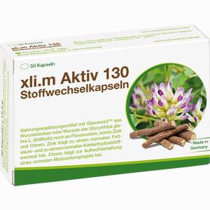 Abbildung von Xli.m Aktiv 130 Stoffwechselkapseln  30 Stück