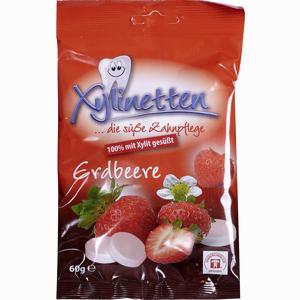 Abbildung von Xylinetten Erdbeere Bonbon 60 g