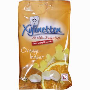 Abbildung von Xylinetten Orange- Ingwer Bonbon 60 g