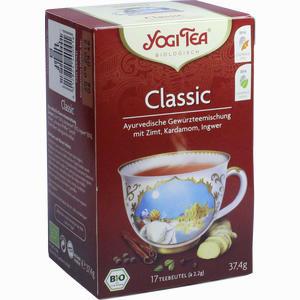 Abbildung von Yogi Tea Classic Bio Filterbeutel 17 x 2.2 g