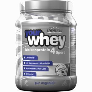 Abbildung von Your Whey Molkenprotein 4 Sport Laktosefrei Pur Ungesüßt Pulver 450 g