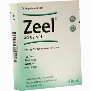 Abbildung von Zeel Ad Us Vet Ampullen 5 x 5 ml
