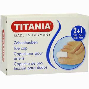 Abbildung von Zehenhauben 2xklein 1xgross Titania 3 Stück