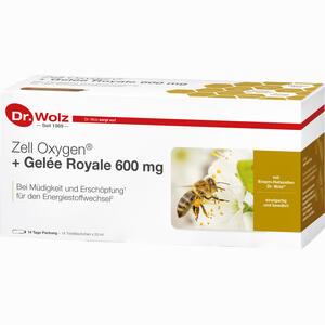 Abbildung von Zell Oxygen+gelee Royale 600mg Trinkampullen 14 x 20 ml