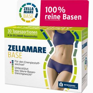 Abbildung von Zellamare Base und Basenstreifen Beutel 30 Stück