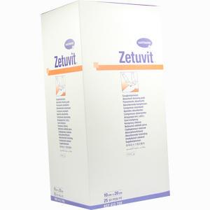 Abbildung von Zetuvit Saugkompresse Steril 10x20cm Kompressen 25 Stück