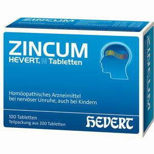 Abbildung von Zincum Hevert N Tabletten  200 Stück