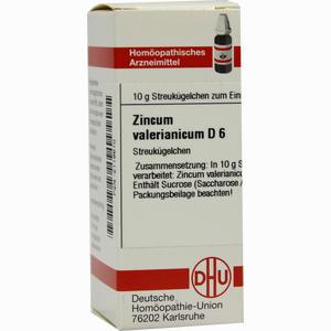 Abbildung von Zincum Valerianicum D6 Globuli 10 g