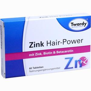Abbildung von Zink Hair- Power Tabletten 60 Stück