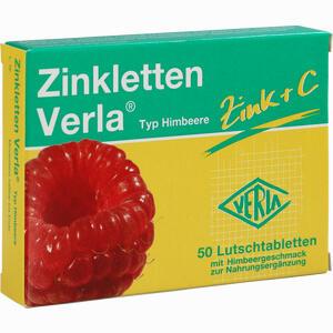 Abbildung von Zinkletten Verla Himbeere Lutschtabletten 50 Stück