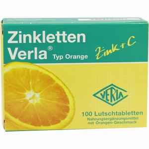 Abbildung von Zinkletten Verla Orange Lutschtabletten 100 Stück