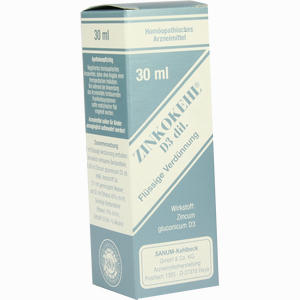 Abbildung von Zinkokehl D3 Tropfen 30 ml