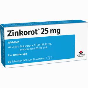 Abbildung von Zinkorot 25 Tabletten  20 Stück