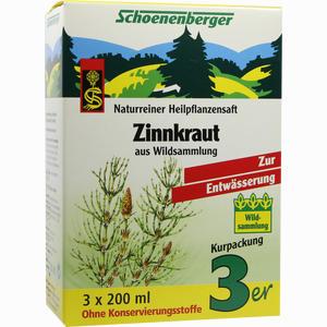 Abbildung von Zinnkraut Schoenenberger Heilpflanzensäfte Saft 3 x 200 ml