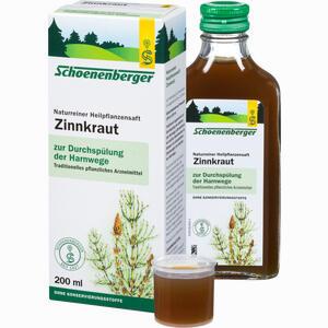 Abbildung von Zinnkrautsaft Schoenenberger  200 ml