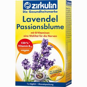 Abbildung von Zirkulin Lavendel Passionsblume Kapseln 30 Stück