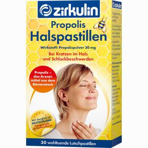 Abbildung von Zirkulin Propolis- Halspastillen  30 Stück