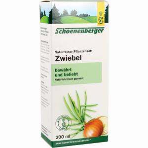 Abbildung von Zwiebelsaft Naturrein Schoenenberger  200 ml
