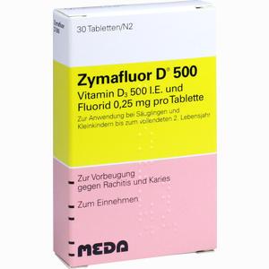 Abbildung von Zymafluor D 500 Tabletten 30 Stück